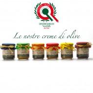 Crema di Olive g 180 (kit degustazione 6 gusti)